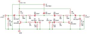 ファミコンAV化 回路イメージ