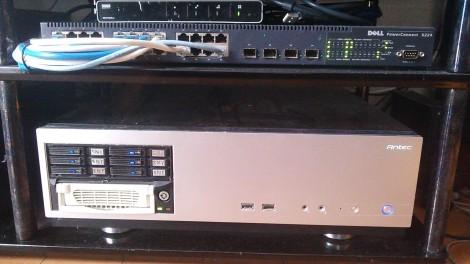 録画PCとPowerConnect 5224