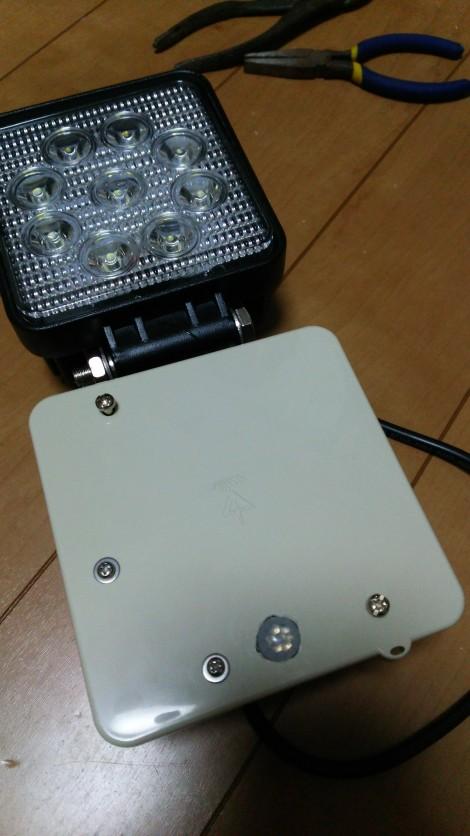 自作センサーライト
