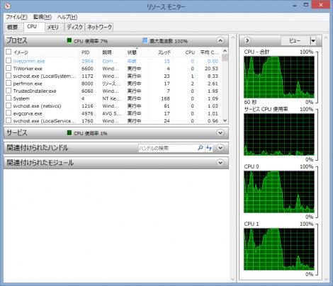 CPU交換前