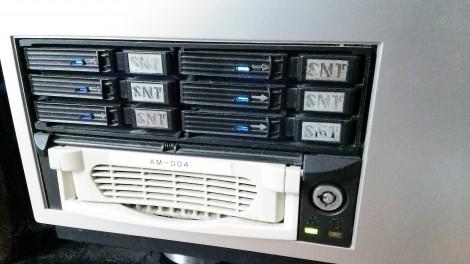 RAIDデータディスク