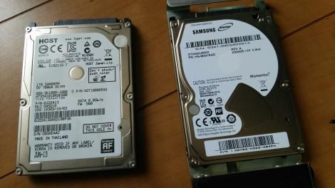 RAIDディスク交換