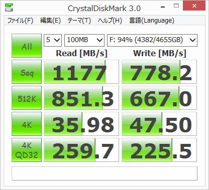 新録画PC Adaptec速度