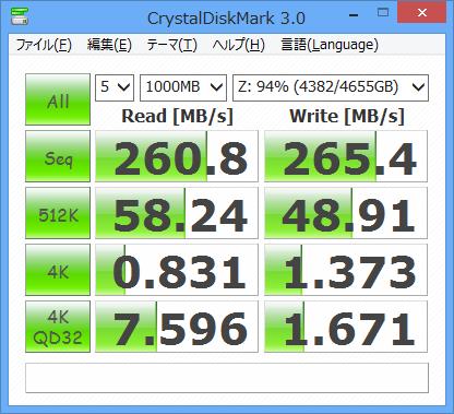 旧録画PC Adaptec速度