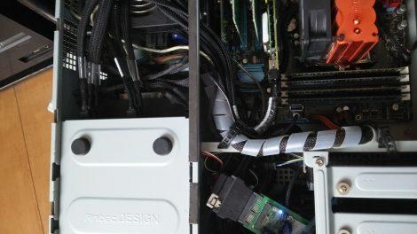 Adaptec RAID ケーブル