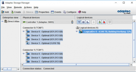 Adaptec Storage Manager