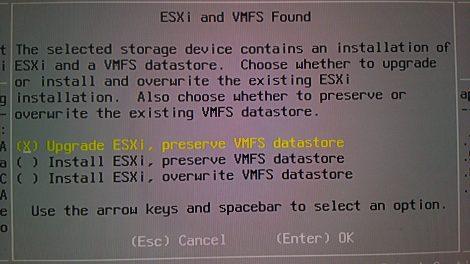 ESXi6.0u2 update